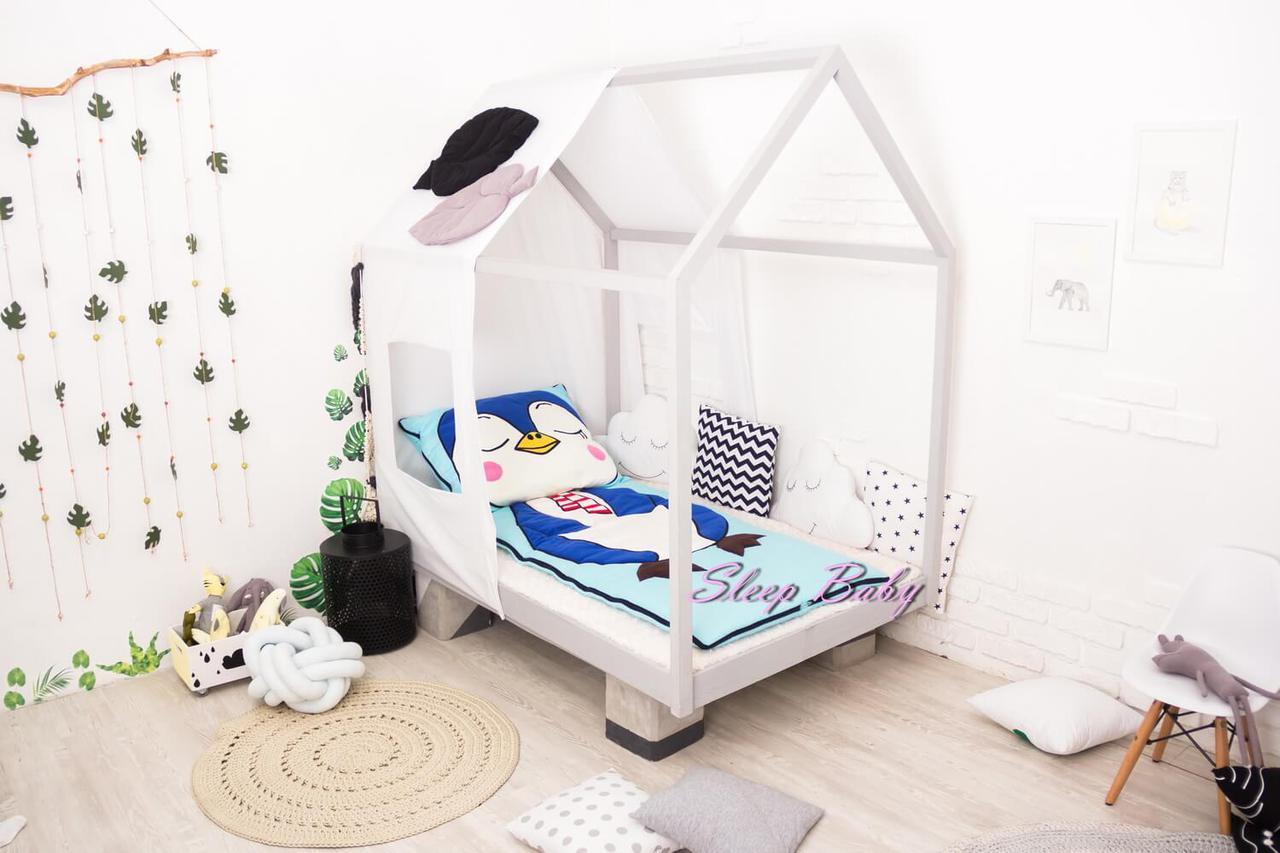 Дитяче постільна білизна в ліжечко Пінгвін