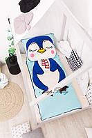 Дитяче постільна білизна в ліжечко Пінгвін, фото 3