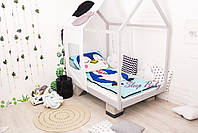 Дитяче постільна білизна в ліжечко Пінгвін, фото 5
