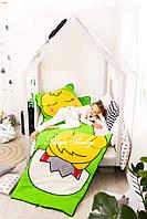 Детский комплект постельного белья Слипик с разьемной молнией Курча, фото 2