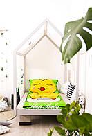 Детский комплект постельного белья Слипик с разьемной молнией Курча, фото 3
