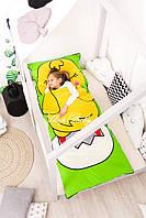 Детский комплект постельного белья Слипик с разьемной молнией Курча, фото 4