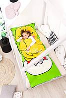 Детский комплект постельного белья Слипик с разьемной молнией Курча, фото 6
