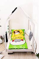 Детский комплект постельного белья Слипик с разьемной молнией Курча, фото 10