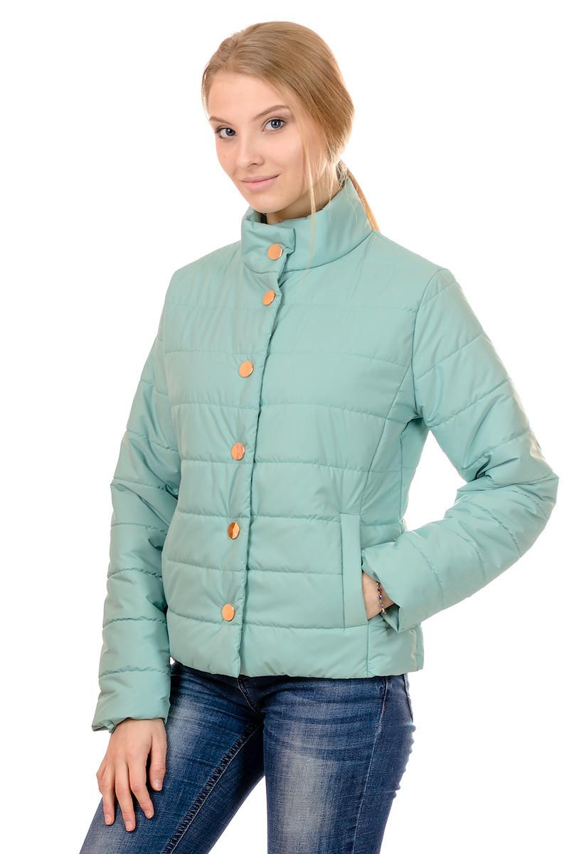 Женская демисезонная куртка IRVIC FK156 48 Мятный (IrC-FK156-48)
