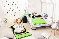 Десткий комплект постельного белья Слипик с разьемной молнией Сова, фото 2