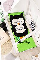 Десткий комплект постельного белья Слипик с разьемной молнией Сова, фото 4