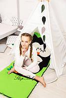 Десткий комплект постельного белья Слипик с разьемной молнией Сова, фото 9