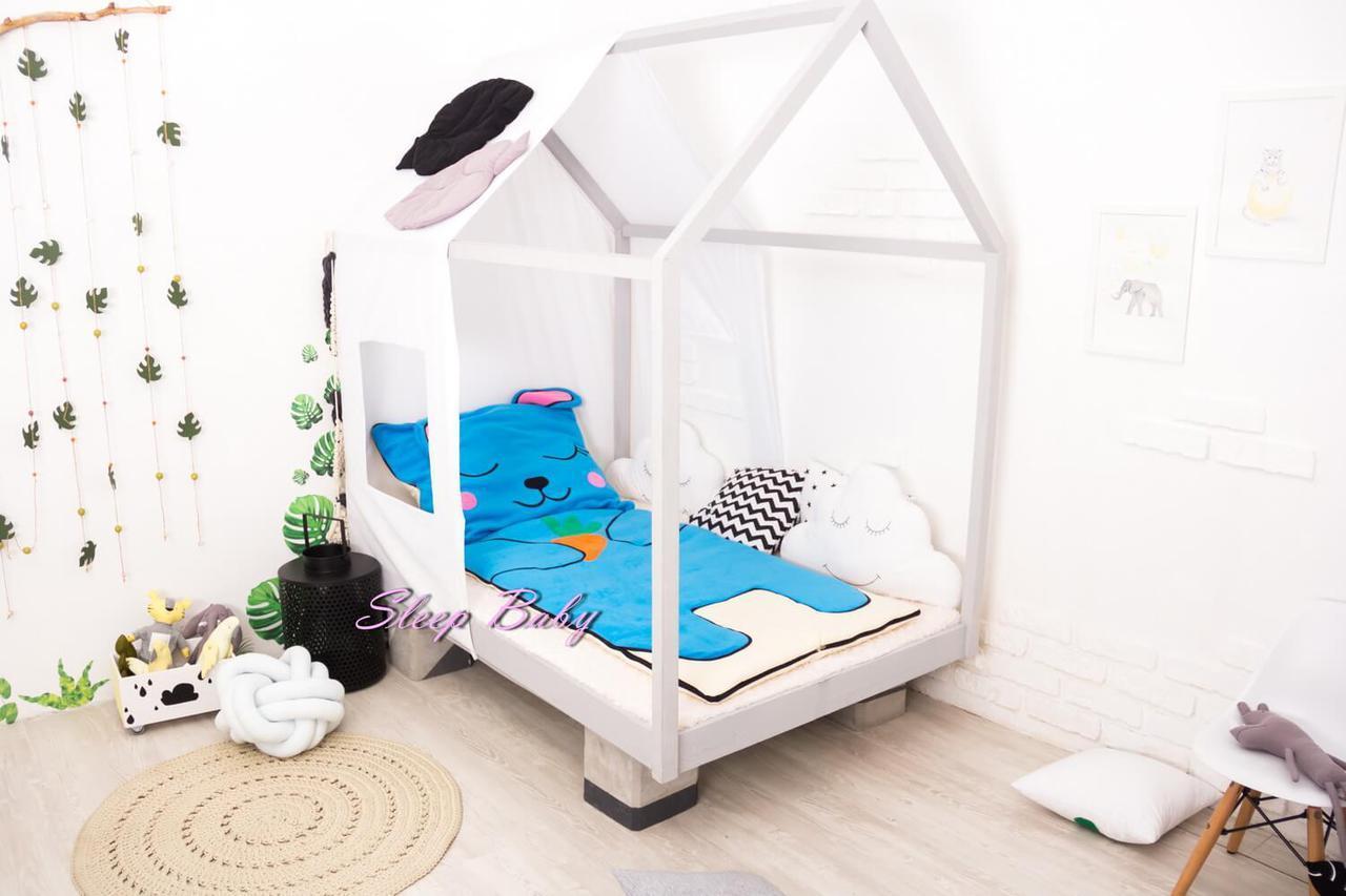 Детское постельное белье Слипик с разьемной молнией Зайка