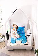 Детское постельное белье Слипик с разьемной молнией Зайка, фото 3