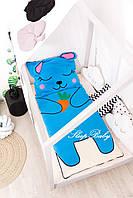 Детское постельное белье Слипик с разьемной молнией Зайка, фото 4
