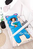 Детское постельное белье Слипик с разьемной молнией Зайка, фото 5