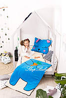 Детское постельное белье Слипик с разьемной молнией Зайка, фото 6