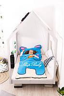 Детское постельное белье Слипик с разьемной молнией Зайка, фото 10
