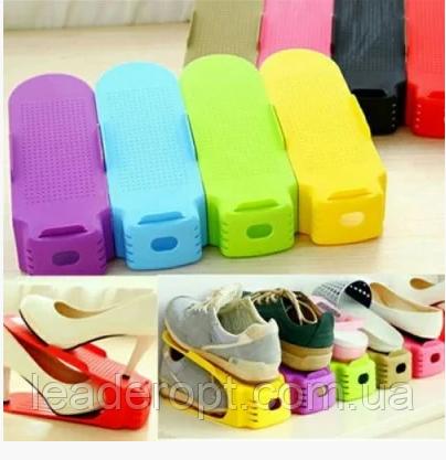 ОПТ ОПТ Підставка для взуття регульована комплект на 6 пар shoes holder