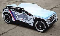 Дитяче ліжко машина Peugeot 3008 Dakar Спальне місце 170*80 см, фото 3