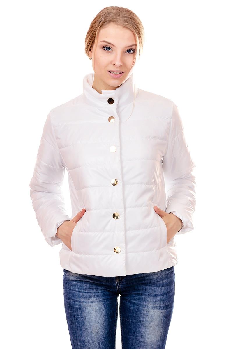 Женская демисезонная куртка IRVIC FK154 42 Белый (IrC-FK154-42)