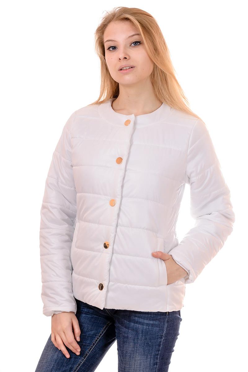 Женская демисезонная куртка IRVIC 44 Белый (IrC-FK134-44)