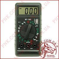 Мультиметр універсальний Digital DT-182, кишеньковий тестер з прозвонкой