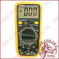 Мультиметр цифровий універсальний Digital VC-890D, автовимкнення, захист, продзвонювання