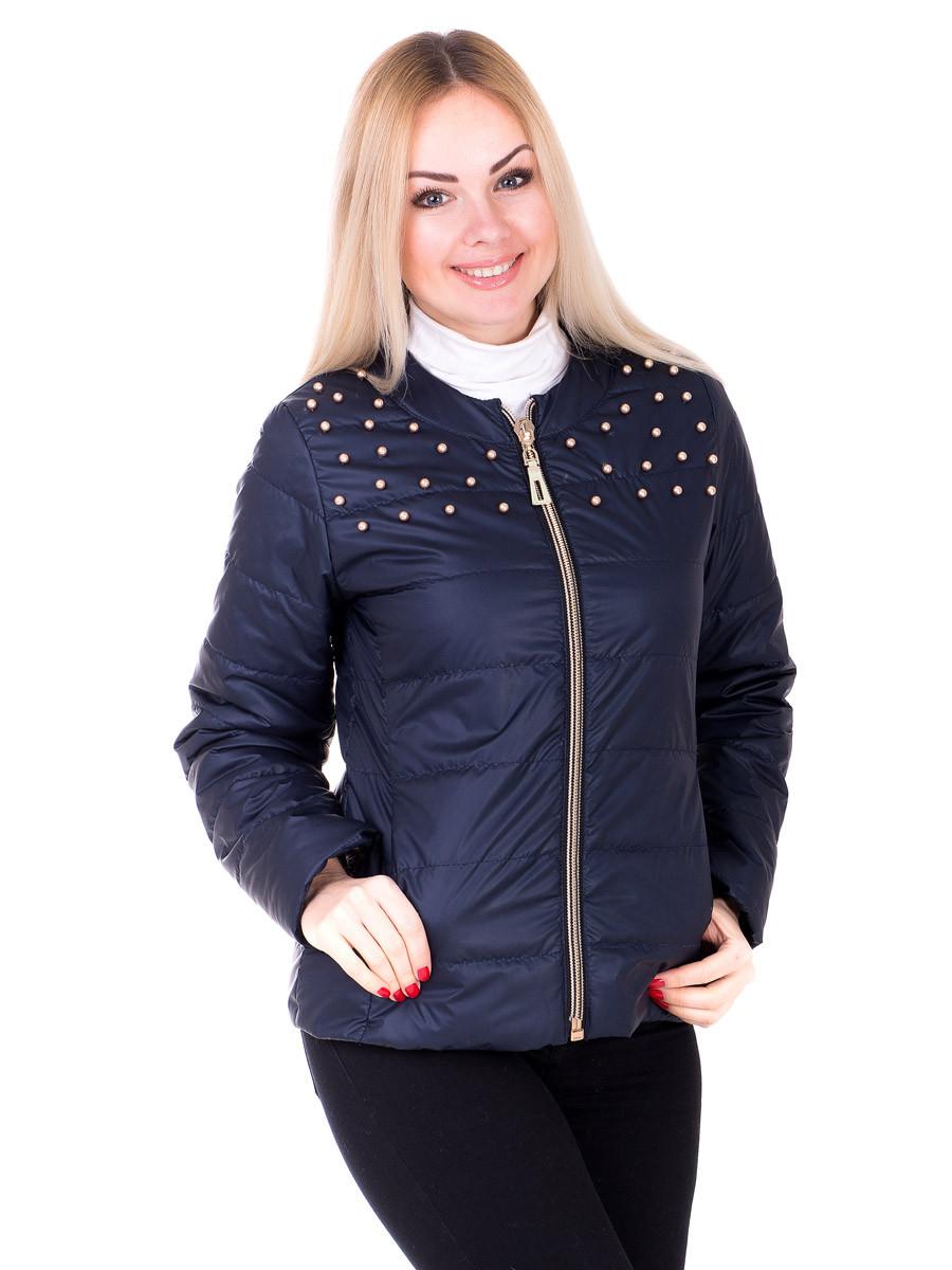 Женская демисезонная куртка IRVIC 50 Темно-синий (IrC-ZK20-131-50)
