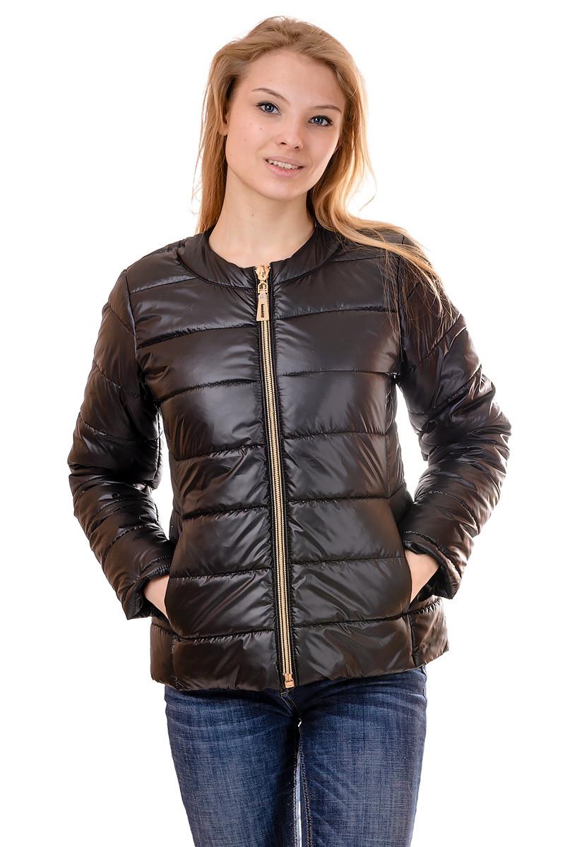 Женская демисезонная куртка IRVIC 46 Черный (IrC-FZ132-46)