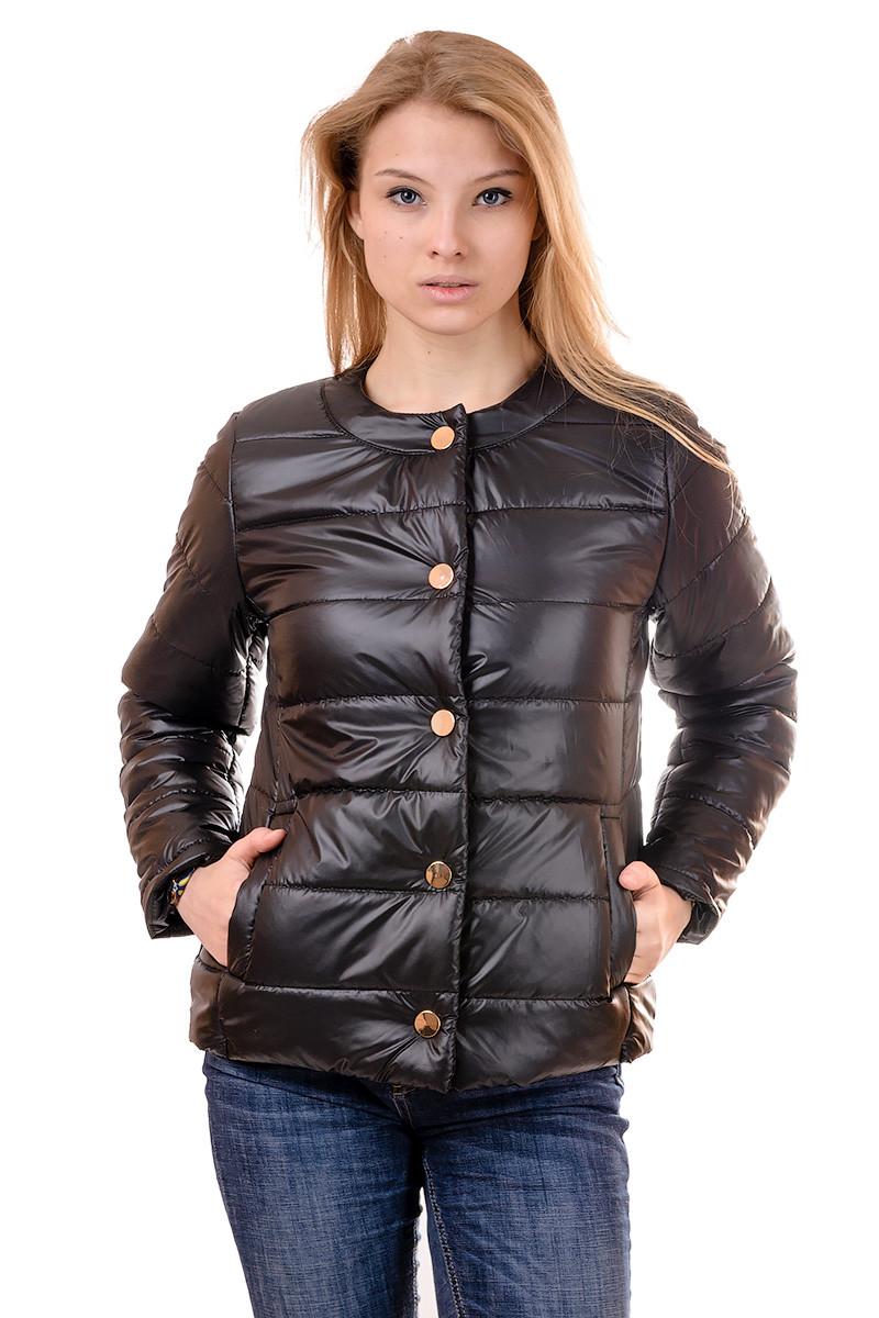 Женская демисезонная куртка IRVIC 46 Черный (IrC-FK132-46)