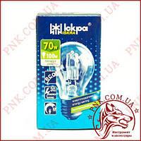 Лампочка ISKRA 70W E27 ECO энергосберегающая, галогенная
