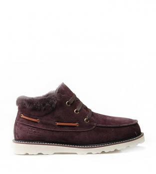 Мужские ботинки UGG David Beckham Lace 44 Коричневые (116364-44)