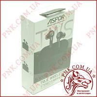 (DS) Bluetooth наушники Aspor- Air Dods S3003 (Wireless)- графит