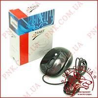 Мишка FAST EM-500 usb дротова, 6 клавіш