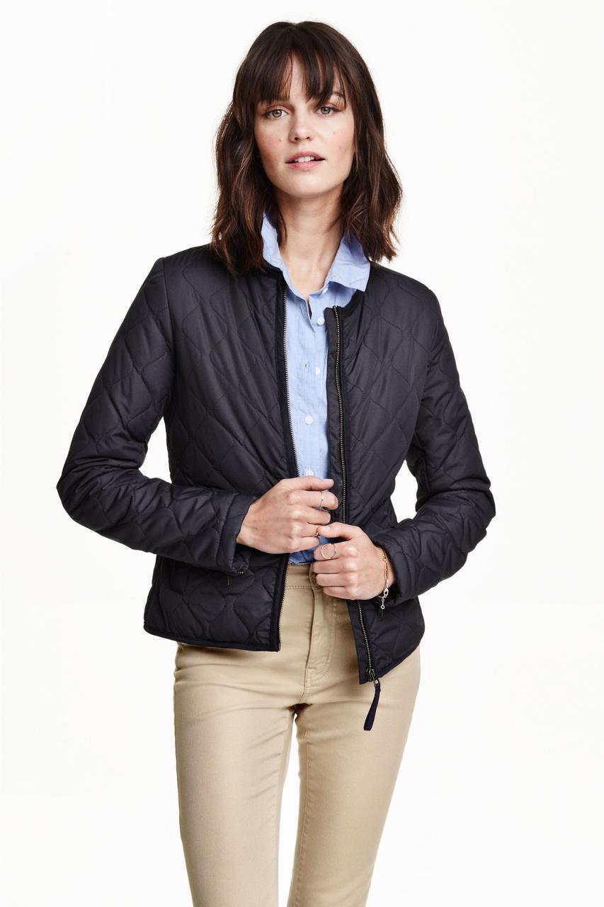 Куртка H&M 42 Темно-синий (3451333)