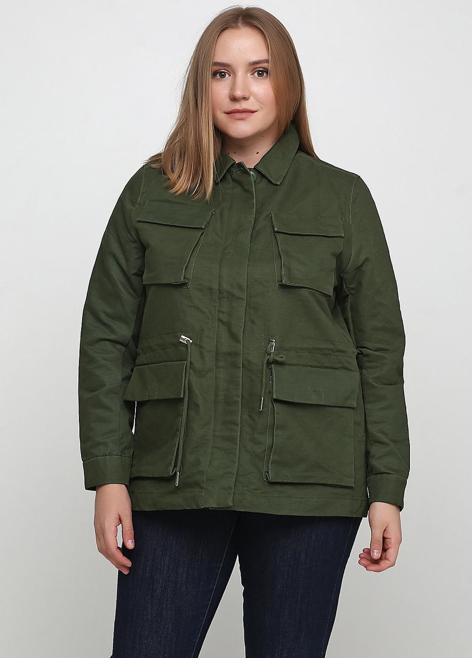 Куртка H&M 58492772 34 Зеленый (2000000876139)