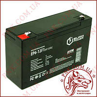 Аккумулятор свинцово-кислотный EURO Power 6V 12AH (EP6-12F1)