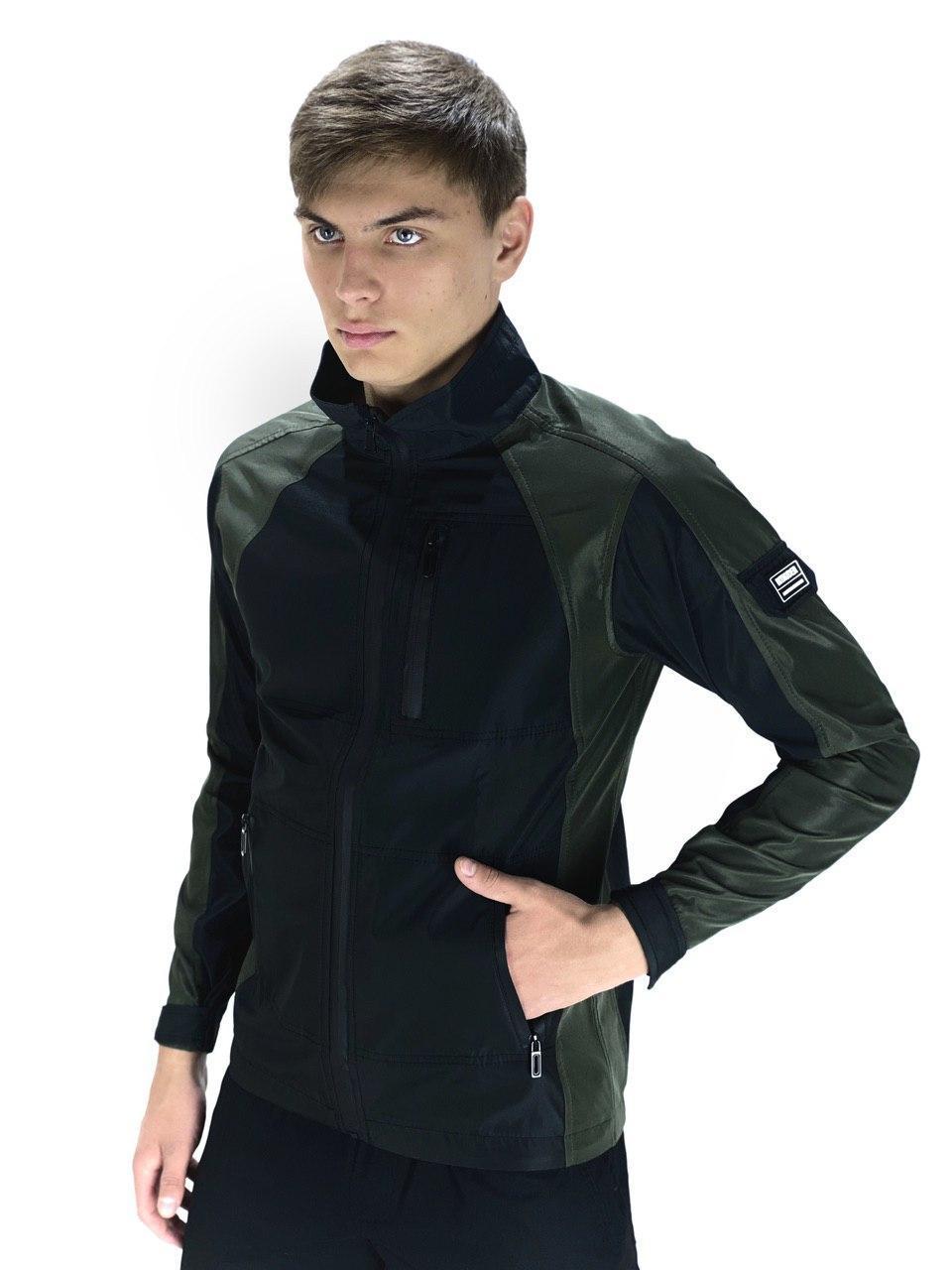 "Куртка Intruder Softshell Lite ""iForce"" XL Черный с хаки (int(Frc)jckt-001/4)"