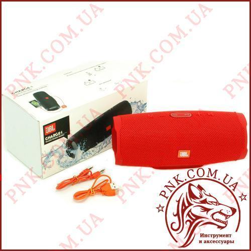 Портативна Колонка JBL CHARGE 4 NEW RED