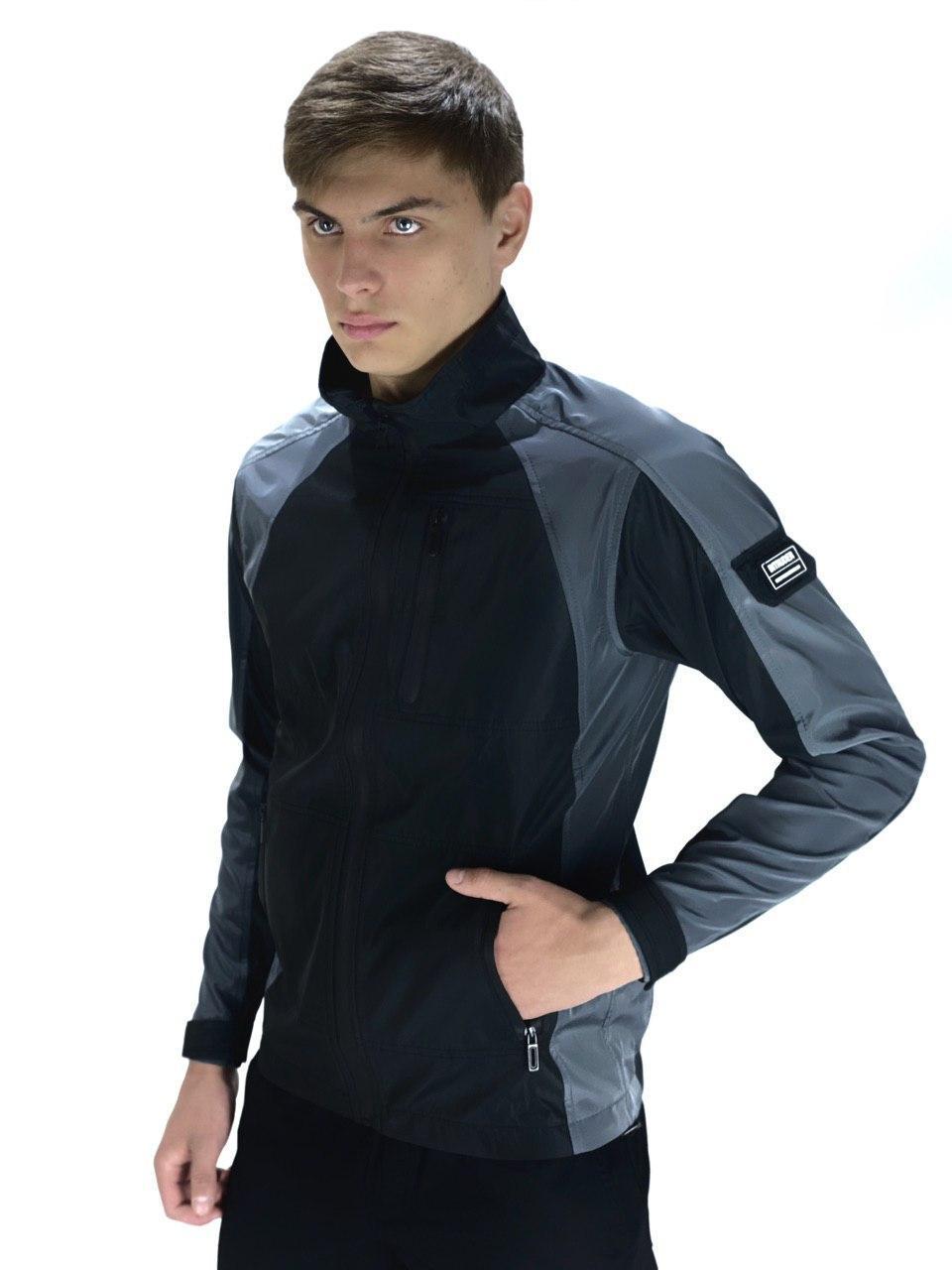 """Куртка Intruder Softshell Lite """"iForce"""" L Черно-серый (int(Frc)jckt-003/3)"""