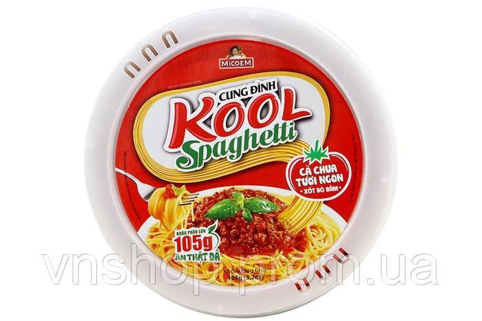 Лапша быстрого приготовления Kool Spaghetti (бокс)