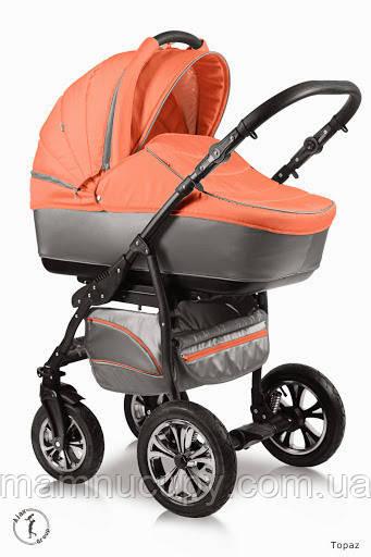 Детская универсальная коляска 2 в 1 Ajax Group Glory Topaz
