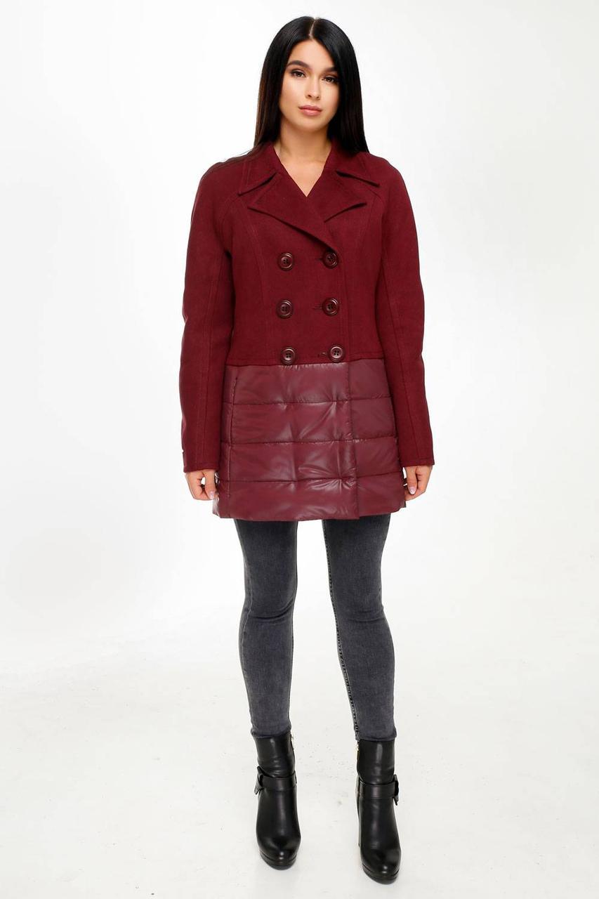Куртка В-1101 Favoritti 46 Темно-красный (30507-198125)
