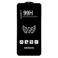Защитное стекло 99H для Xiaomi Redmi 8 / 8A черное (на сяоми редми 8 / 8А, ксиоми редми 8 / 8а ксяоми)
