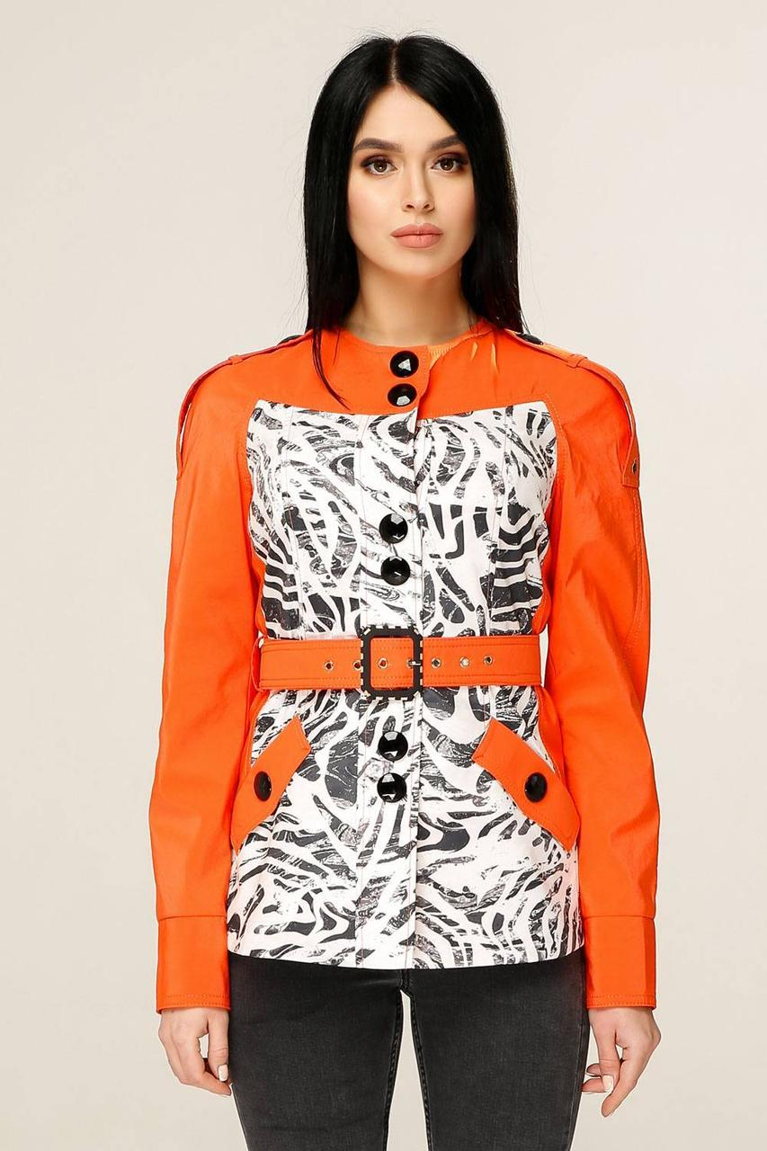 Куртка В-1131 Favoritti 50 Красно-оранжевый (30539-198178)