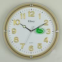 Настенные часы (34х5 см) под золото