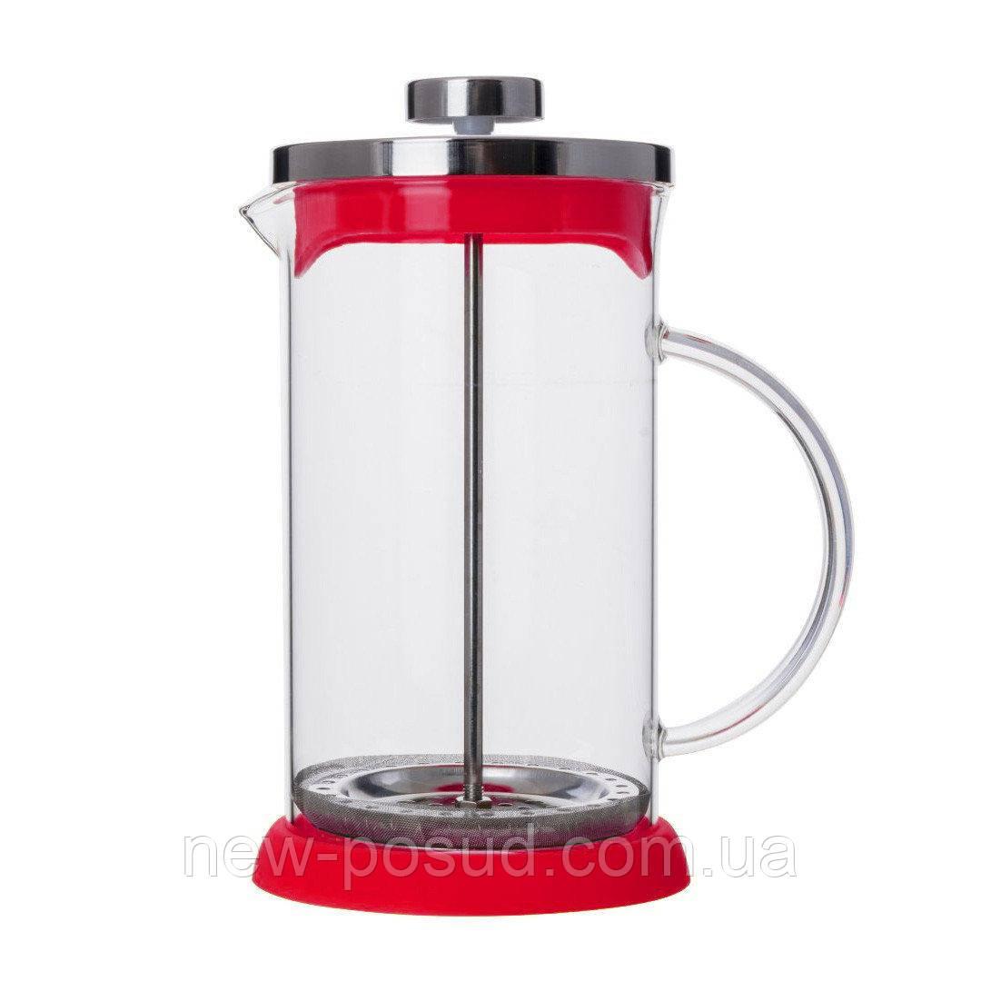 Френч - пресс для чая и кофе с силиконовым дном V 600 мл Empire 0706