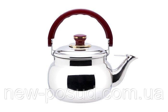 Чайник зі свистком з нержавіючої сталі 4.7 л Empire 1493