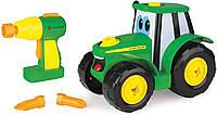 """Игровой набор Tomy John Deere """"Собери свой трактор"""" Джонни Разборной трактор"""