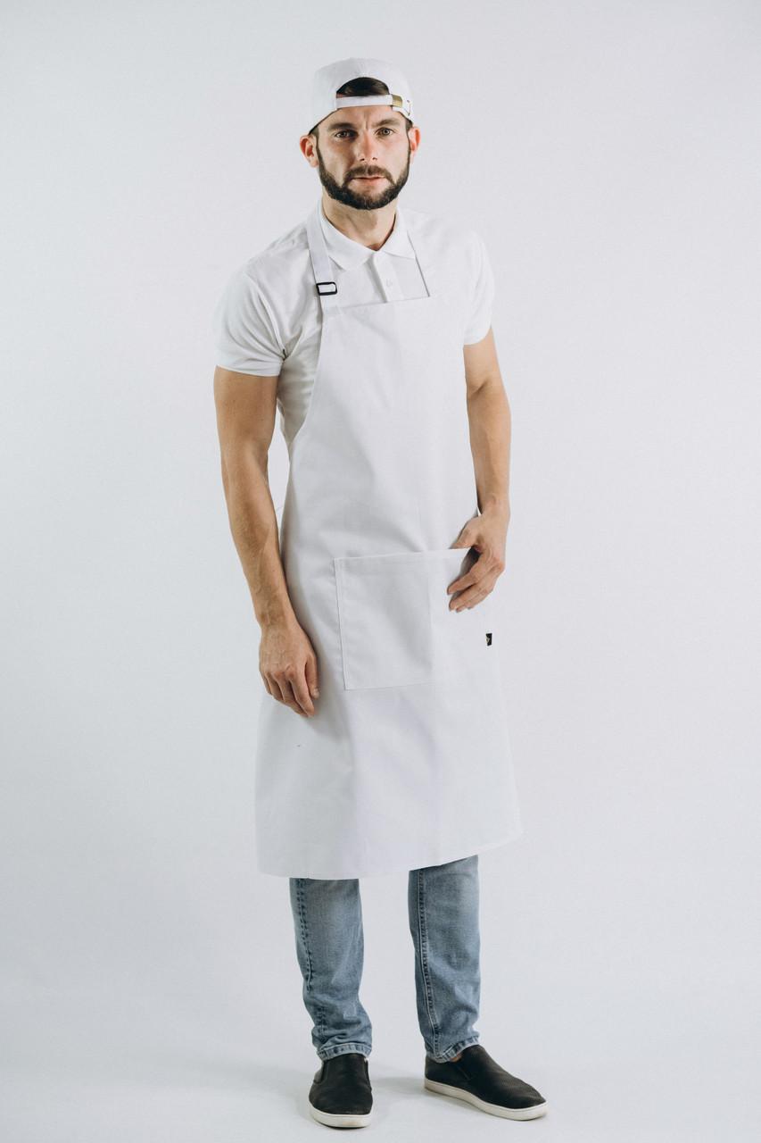 Фартук Latte Удлиненный Белый