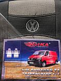 Чехлы Фольксваген Т5 Volkswagen T5 1+1 2003- (4 подлокотника) Nika, фото 2