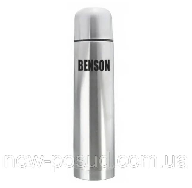 Вакуумный термос 1000 мл из нержавеющей стали Benson BN-053