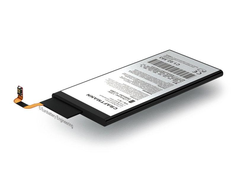 Аккумулятор Craftmann EB-BG925ABA для Samsung Galaxy S6 Edge SM-G925F (ёмкость 2600mAh)